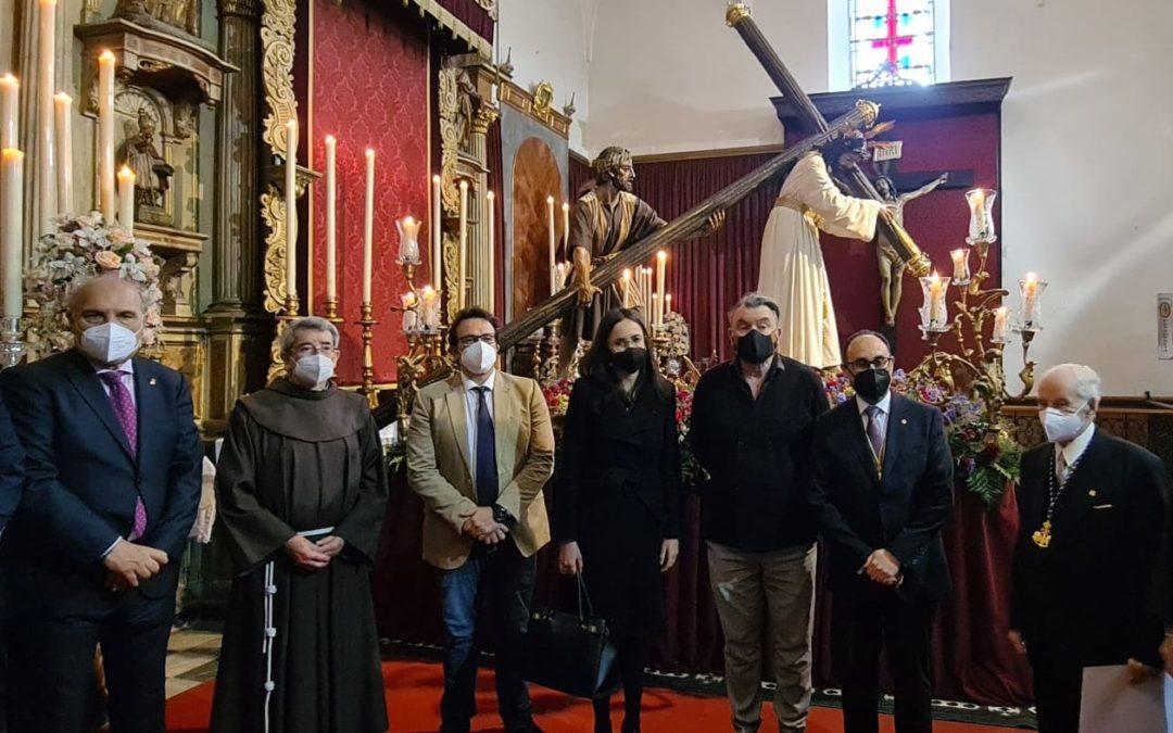 Visita Institucional del Excmo. Ayuntamiento de Cádiz y Consejo Local de Hermandades y Cofradias