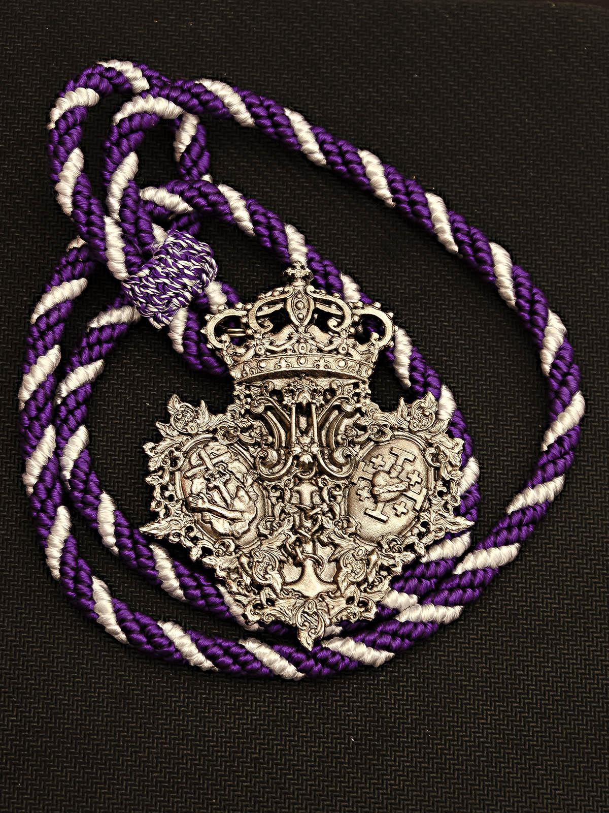 medalla nazareno del amor
